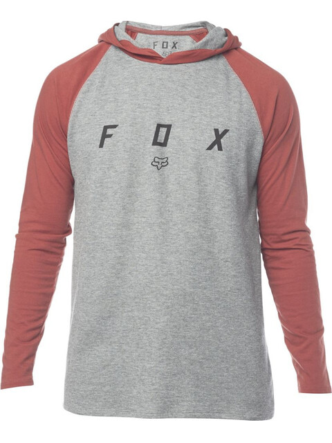 Fox Tranzcribe LS Knit Shirt Men heather graphite
